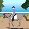 Comment lope (galop ouest)