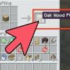 Comment faire une porte dans minecraft