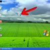 Comment faire une icône cachée sur windows xp