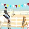 Comment faire un cheval détendu à un spectacle équestre