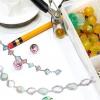 Comment faire un collier de perles mutlicolored