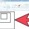 Comment faire un carré parfait sur microsoft paint