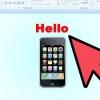 Comment faire une présentation powerpoint à obtenir un téléphone cellulaire
