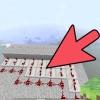 Comment faire une lampe de redstone dans minecraft