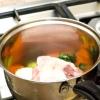 Comment faire de soupe poulet et nouilles