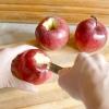 Comment faire de cannelle bonbons et sirop d'érable pommes cuites