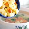 Comment faire gluten soupe gratuite de pommes de terre