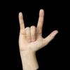 """Comment faire de """"je te aime"""" en langue des signes"""