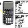 Comment faire des menus sur un programme de 83 calculatrice ti