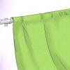Comment faire des rideaux non doublés
