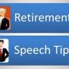 Comment préparer un discours de la retraite