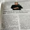 Comment lire un journal d'épaisseur dans un court laps de temps