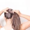 Comment faire un brillaient 8 manière poney queue fendue coiffure