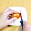 Comment faire une rose sur une tomate