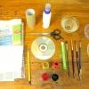 Comment faire un stylo coucher de soleil de la scène et porte-crayon