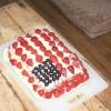 Comment faire un gâteau de drapeau américain
