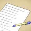 Comment faire une lettre ancienne
