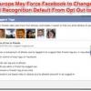 Comment retirer de reconnaissance faciale sur facebook