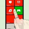 Comment épingler quelque chose pour commencer sur windows phone 7