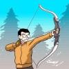 Comment pratiquer tir à l'arc en hiver