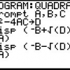 Comment programmer solveurs d'équations sur toutes les calculatrices graphiques ti