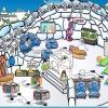 Comment mettre votre igloo sur la carte sur club penguin