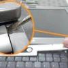 Comment supprimer un clavier d'ordinateur portable à partir d'un dell latitude d505