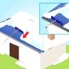 Comment enlever la neige d'un toit à l'aide d'un râteau de toit