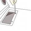 Comment faire pour remplacer une courroie de sèche sur les modèles à remous