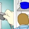 Comment remplacer le ventilateur de l'évaporateur dans un modèle de réfrigérateur kenmore 106 8627580