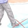 Comment sauver quelqu'un qui est tombé à travers la glace
