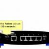 Comment réinitialiser un routeur linksys