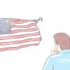 Comment respecter le drapeau américain