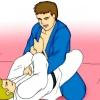 Comment inverser quelqu'un de l'intérieur de la garde fermée dans jiu jitsu