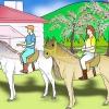 Comment monter un style anglais de cheval