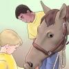 Comment monter un cheval pour la première fois (enfants)