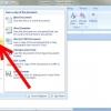 Comment enregistrer un document dans un système basé sur windows