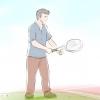 Comment servir une balle de tennis