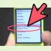 Comment définir une alarme sur un ipod nano deuxième génération