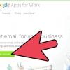 Comment mettre en place un compte de google apps