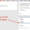 Comment mettre en place google + auteur for blogger