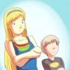 Comment partager une chambre avec un garçon plus jeune frère quand vous êtes une fille