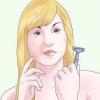 Comment se raser les cheveux longs et de croître en arrière
