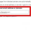 Comment régler une boîte de réception hotmail
