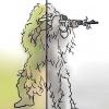 Comment traquer avec un ghillie (3d camouflage) costume