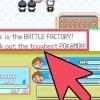 Comment voler pokemon de l'usine de bataille (émeraude pokemon)