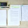 Comment écrire des notes pour un test de mathématiques