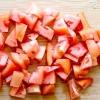 Comment préparer la tomate thai et salade de haricots verts