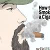 Comment fumer un cigare