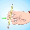 Comment tourner un crayon autour de votre pouce